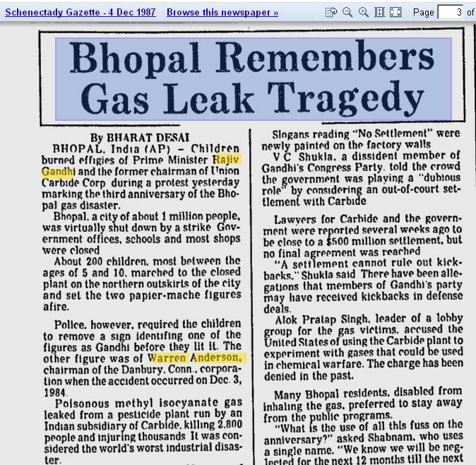 bhopal gas tragedy ethical issues Professionalism/union carbide and bhopal a memorial for the bhopal gas tragedy located had the ethical responsibility to keep the bhopal's plant safe.